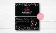 Printable paparazzi care card paparazzi join my team card paparazzi business cards free personalized paparazzi jewelry consultant card glitter for vistaprint or home printing graphicdesign businesscards colourmoves