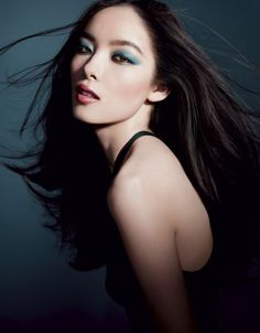 Asian Models: AD CAMPAIGN: Sun Fei Fei for Giorgio Armani Cosmetics, Spring/Summer 2012