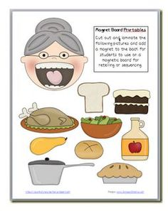 The Old Woman Who Swallowed a Pie~ I will have to do this at Thanksgiving, since I already have the book