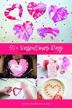 STEAM activities for preschoolers, Valentines Science Experiment, Valentines Day STEM Activities, Valentines Day STEAM activities for kids, Science Valentines, Kinder Valentines, Valentines Day Activities, Homemade Valentines, Valentines Day Decorations, Valentine Day Crafts, Valentine Ideas, Valentine Party, Valentine Nails