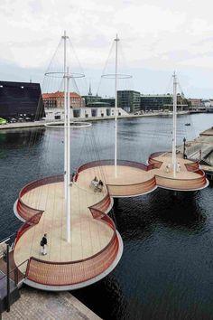Мост в Дании от архитекторов Studio Olafur Eliasson