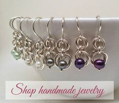 Have you ever wanted to learn how to make your own jewelry but weren't sure how to get started? I share these free tutorials to help you get started! ✕ Get my exclusive guide, Top 10 Tools for Building Your Jewelers' Toolbox! Love making jewelry and want to learn more? Get my newest jewelry tutorials …