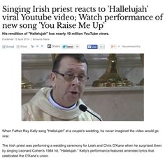 The Parish Priest Of Oldcastle County Meath Fr Ray Kelly Got A Standing Ovation