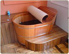 Ofurô de Madeira - Preço e Fotos | Banheiro Decorado