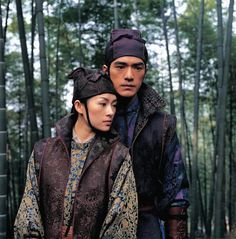 Ziyi Zhang in house of flying daggers | Fashion in Film