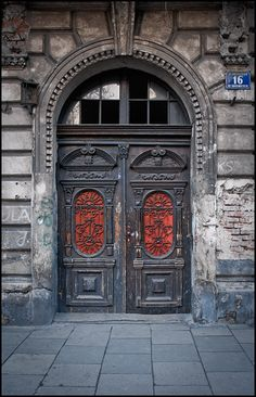 Krakow Door, Poland ~ Photography by Anders Mohlin on Flickr.