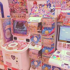 venusangelic: Super cute Arcade seen in a Japanese shopping centre!  #kawaii #arcade #japan