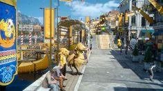 Découvrez le carnaval Moogle Chocobo dans Final Fantasy XV - Visitez pour une durée limitée, la ville d'Altissia transformée à l'occasion du carnaval Moogle Chocobo ! De nouvelles quêtes annexes, de nouvelles tenues pour Noctis, un feu d'artifice...