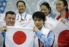 羽生の活躍で日本は4位発進、開催国ロシアが団体戦首位に