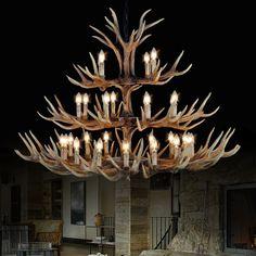 Modern candle antler chandelier china e14 lustre led lamp pendientes kristallen kroonluchter lampadario moderno home lighting --…