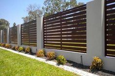 6 Simple Tricks Can Change Your Life: Front Fence Letter Box fence landscaping vines.Fence Landscaping Vines fence post back yard. Front Yard Fence, Diy Fence, Fence Landscaping, Pool Fence, Backyard Fences, Garden Fencing, Fenced In Yard, Fence Ideas, Pallet Fence