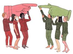 People accused of implicit bias should be less defensive about it, this Op-Ed argues. (Illustration: Marion Fayolle)