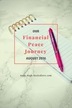 High-Heeled Love: Our Financial Peace Journey: August 2016