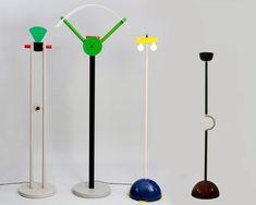Memphis Milano floor lamps - 1980's