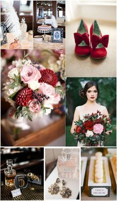 Old Hollywood Wedding Inspiration. Gatsby would be proud!