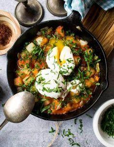 Tuscan Tomato And Egg Skillet