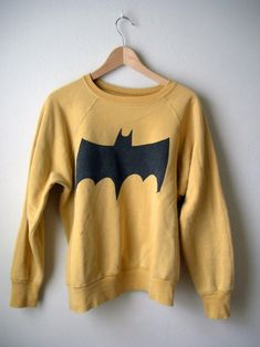 JUNK FOOD Batman Bat Symbol Crew Neck Pullover - close alternative @ RevolveClothing