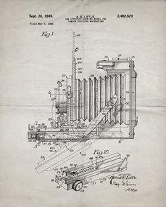 Vintage Camera Patent Print - IndustrialPrints