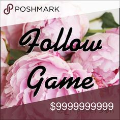 «« Follow Game »» My first follow game! Rules are simple  💟  Like this post 💟  Follow everyone who has liked this post 💟  Share & tag your friends Other