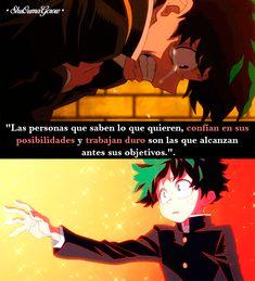 Las personas que saben lo que quieren #ShuOumaGcrow #Anime #Frases_anime #frases