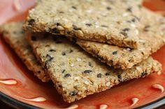 Herbed Almond Crackers paleo