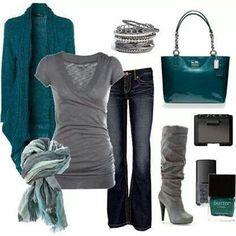 Nice outfits ⋆ Instyle Fashion One Trend Fashion, Fashion Moda, Look Fashion, Womens Fashion, Fall Fashion, Weekend Fashion, Feminine Fashion, Ladies Fashion, Fashion News
