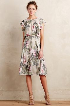 Calamina Dress #anthropologie  This one is nice too. What do you think?