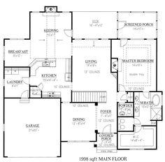 1000 images about house plans on pinterest ranch house for European house plans with walkout basement