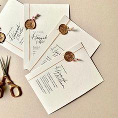 Romantic September wedding invitations. #jostudiodesign #weddingstationery #weddinginspiration #wedding #customweddinginvitationsuk #artwork #invitations #calligraphy #envelopes #graphicdesign #gold #waxseal #gfsmithpaper  #flowers #rose  #classicwedding#modernwedding#allinthedetails #crystalpalace #london #studio
