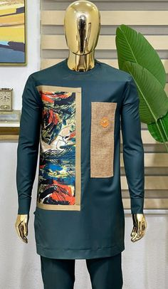 Latest African Wear For Men, Latest African Men Fashion, African Shirts For Men, Nigerian Men Fashion, African Dresses Men, African Attire For Men, African Clothing For Men, Man Dress Design, Dashiki For Men