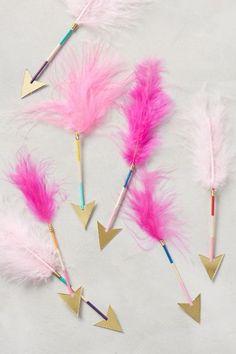 flechas plumas