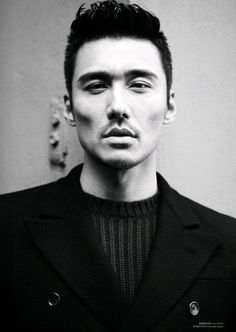 Hu Bing, Chinese model and actor.