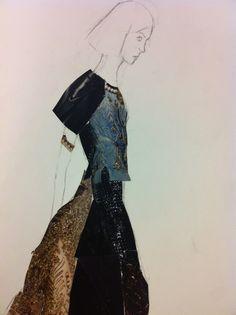 fashion drawing collage - Поиск в Google
