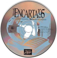 Before Wikipedia came along, there was Microsoft Encarta '95.