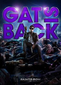 Johnny Gat will be making his triumphant return in Saints Row IV. Saints Row Iv, Cry Anime, Anime Art, Danielle Victoria, Video Game Characters, Fictional Characters, Sr1, Girls Anime, Games