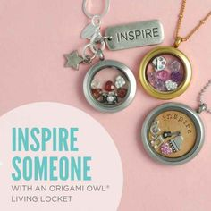 #charms #lockets #Origamiowl