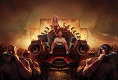 #illustration #throne #game #mediamarkt #arsthanea #gamepad #joystick  Throne of Games by Ars Thanea