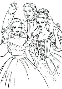 barbie girl coloring pages nice coloring pages for kids free coloring pages pinterest barbie and barbie coloring - Barbie Girl Pictures For Colouring