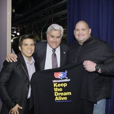 Olympic champion wrestlers, Henry Cejudo and Rulon Gardner (3/18/13) #TonightShow