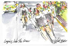 The Art of Cycling: Richmond 2015 UCI Worlds: Laying Into the Corner