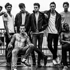 Ollie, Jake, Mitch, Tom, Curt, Austin, Jeremy & Oliver at Nevs in London by Leonardo Corredor