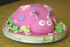 Ladybug Cake and Cupcakes — Birthday Cakes