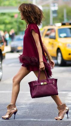 High Fashion Street Style at New York Fashion Week 2014 New York Street Style, Looks Street Style, Moda Fashion, Fashion Week, New York Fashion, Fashion Trends, Street Fashion, Fashion 2015, Fashion Decor