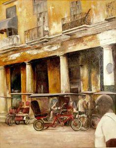 Bike-taxi station La Havanna