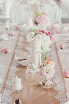 Wedding Barn Lace Table Runner