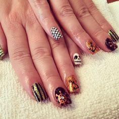 Pirate nails Pirate Nails, Cute Nails, Beauty, Pretty Nails, Beauty Illustration