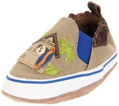 Robeez Soft Soles Surf Shack Pre-Walker (Infant/Toddler),Tan/Blue,0-6 Months (1-2 M US Infant) Robeez. $17.99. Save 25%!