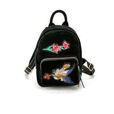 16.81$  Watch now - http://vioma.justgood.pw/vig/item.php?t=hfk5se718767 - Fashion Soft Ethnic Wind Women Backpack Birds Flower Embroidery Travel Mini Bag 16.81$