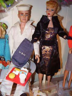 Vintage #Barbie and #Ken Dolls www.wonderfinds.com/item/3_111074746679/c250/Barbie-Ken-DOLLS