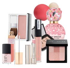 """Pink"" by pastleprincess123 ❤ liked on Polyvore featuring beauty, Eos, Marc Jacobs, NARS Cosmetics, Bobbi Brown Cosmetics, Isadora, By Terry, Clinique and Accessorize"